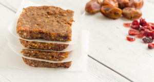 Chewy Date Protein Bars