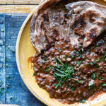 Black Lentils and Red Kidney Beans
